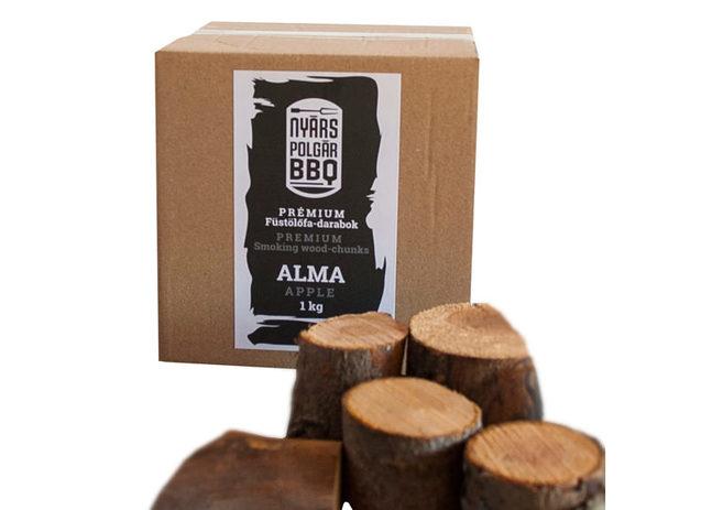 Wood 2 smoke facsonkok termekreszletek 01 alma